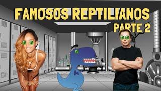 Reptilianos Famosos Reales Parte 2