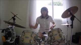 Far from Alaska ft Scalene - Relentless Game drum cover