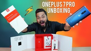 OnePlus 7 Pro Unboxing & Hands-On ⚡ Ab Ayega Mazaa!!