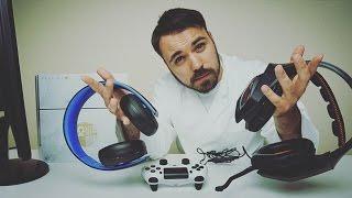 Welches Headset ist besser?  Asus Strix VS Sony PS4 Headset - Dr. UnboxKing - Deutsch