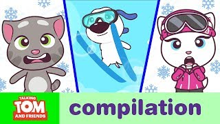 WACKY SPORTS – Talking Tom and Friends Minis Cartoon Compilation (21 Minutes)