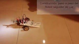 ✅ Robot Seguidor de Luz, Conexiones Detalladas