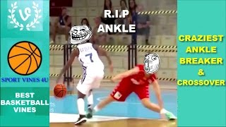 The CRAZIEST Ankle Breakers and Crossovers - Best Basketball Moments