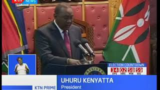 President Uhuru Kenyatta addresses Parliament as opposition leaders stay away from opening