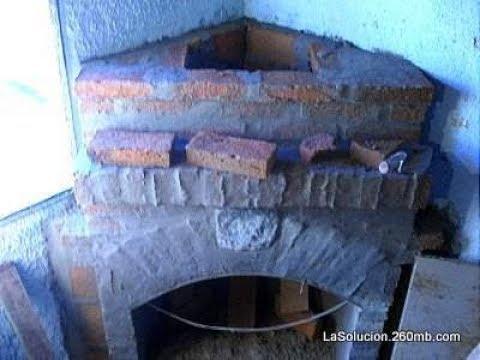 Estufa economica de ladrillos - Su construcción