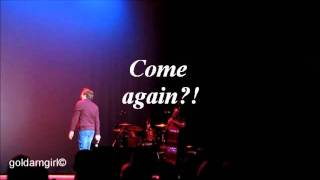 Clay Aiken 2011 Priceless Moments Part 1 (Opening Banter, Tried and True Tour)