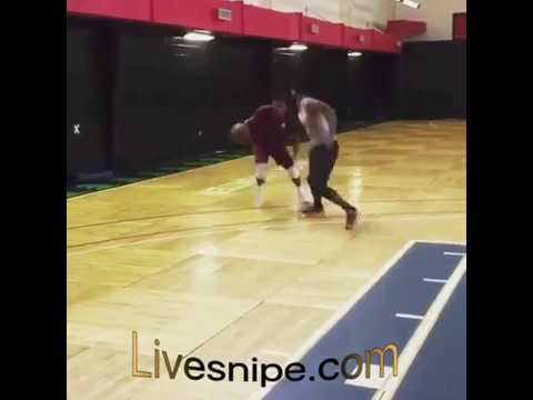 Basketball crossover | Dude broke his ankle