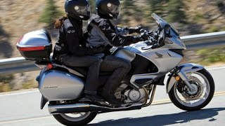 Honda Deauville NT 700 Exhaust Sound And Acceleration