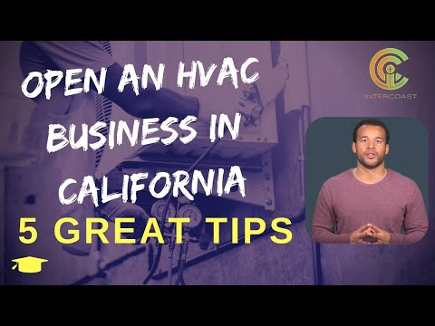 , title : 'HVAC Business in California: 5 tips to open an HVAC Business