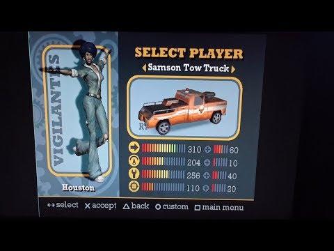 PS3 HAN PS1 Classics Vigilante 8  Samson Tow Truck Quest