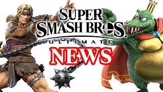 Super Smash Bros Ultimate - King K Rool, Simon Belmont and More!