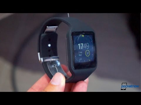 Sony SmartWatch 3 Hands-On: Android Wear's Newest Watch