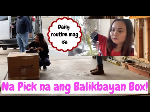 Celery For Breakfast | How to send Balikbayan Box | Filam couple