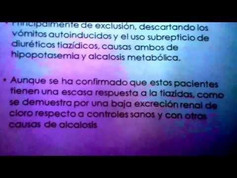 La presión arterial en la apendicitis aguda