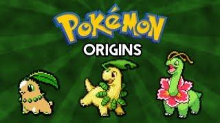 Pokemon Origins | Chikorita, Bayleef and Meganium