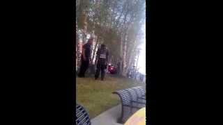 Detroit Cop Threatens to Punch Helpless American Citizen in The Face