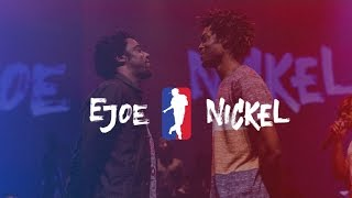 EJOE vs NICKEL | I LOVE THIS DANCE ALL STAR GAME 2016