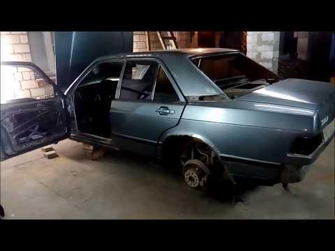 Mercedes-Benz 190  — кузовной ремонт (ч.1)