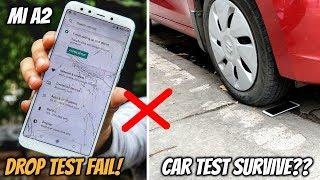 Xiaomi Mi A2 Drop Test,Bend Test & Car Test - Can it Survive??