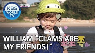 """William 'Clams are my friends!"""" [The Return of Superman/2019.07.07]"""