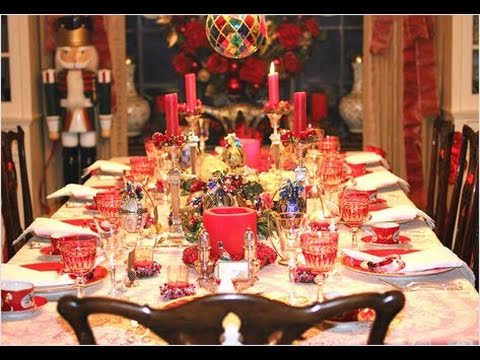 Сервировка Новогоднего Стола - фото - 2019 / Serving New Year's table - photo /Serving Neujahrstisch