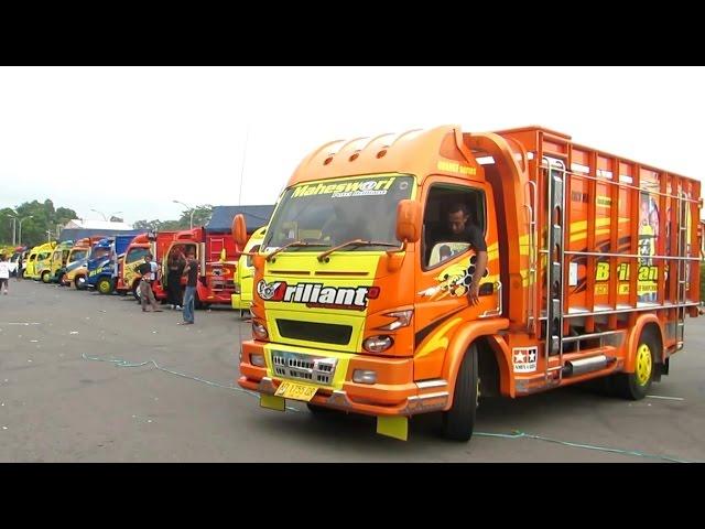 Video Keren Kontes Akbar Modifikasi Truk Indonesia Truck Fuso