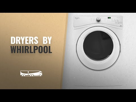 Whirlpool Dryers Best Sellers [2018]: WHIRLPOOL WED7590FW 7.4 cu. ft. Duet(R) Long Vent Front Load