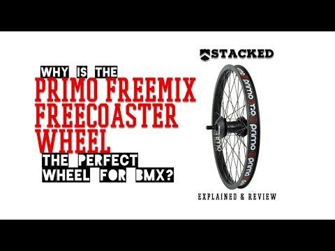 BMX PARTS REVIEW: Primo FREEMIX x VS PRO freecoaster rear wheel