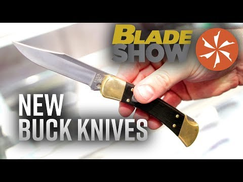 New Buck Knives at Blade Show 2019: Knife Center