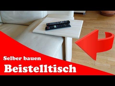 Beistelltisch fürs Sofa selber bauen (Tutorial)