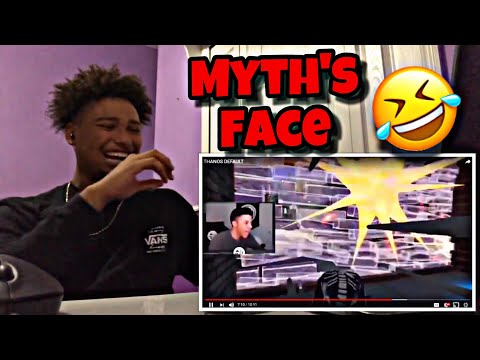 HE WENT FULL TRYHARD! | THANOS DEFAULT (Reaction!)