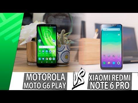 Moto G6 Play VS Xiaomi Redmi Note 6 Pro | Enfrentamiento | Top Pulso