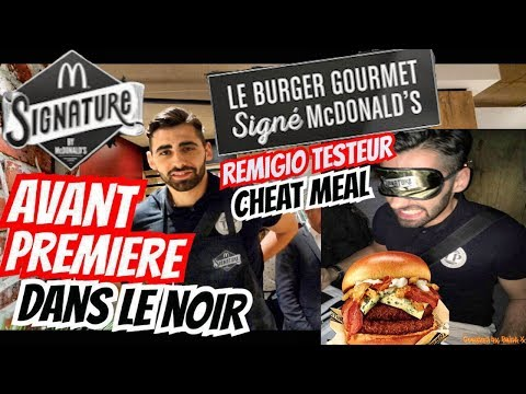 INVITÉ PAR MCDONALD'S - BURGER SIGNATURE & CHEAT MEAL EN CUISINE