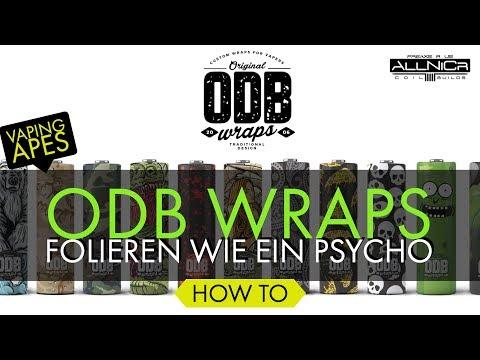 YouTube Video zu ODB Wraps 18650er Schrumpfschlauch Paisley 4er Pack