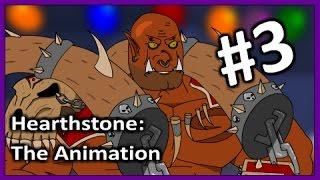 HearthStone Cartoon: Garrosh VS Morgl. Animation #3
