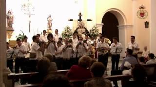 preview picture of video 'Cristo del Amor y Marcha Real Banda de CC y TT Sagrado Corazón de Jesús - Sorbas-'