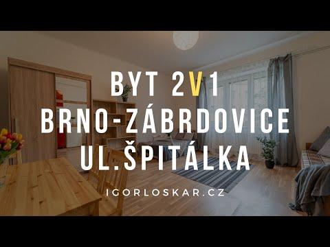 Video z << Prodej bytu 1+1, 50 m2, Brno >>