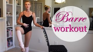 FULL LENGTH: Barre Fitness Workout - Booty, Abs, Arms by SummerGirl Fitness