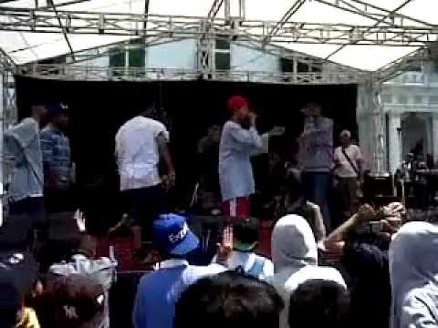 Freestyle Battle - N.Y.C.O Vs Wong Jowo @Kota Tua Festival