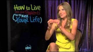 Sarah Chalke interview How To Live With Your Parents