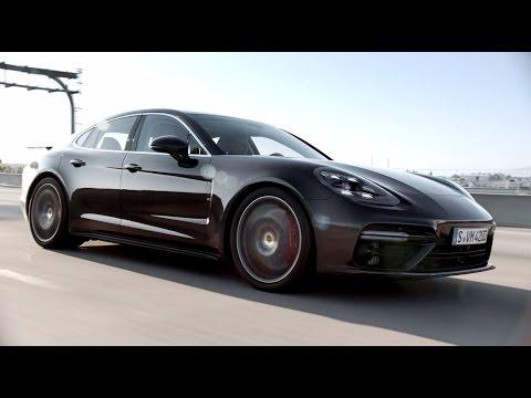 Porsche Panamera Лифтбек класса F - рекламное видео 3