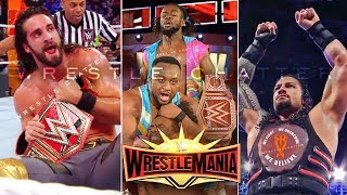 WWE Wrestlemania 35 7th April 2019 Highlights - Winners | Results ! WWE Wrestlemania 35 Highlights !