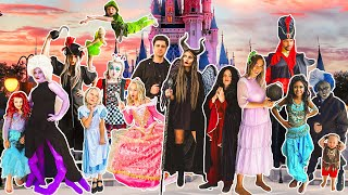 Get READY with US for HALLOWEEN!   COSTUME REVEAL For Large Family of 18!
