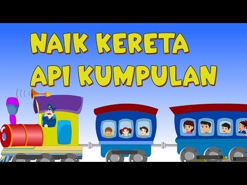 Naik Kereta Api Tut Tut Tut | Kumpulan | Lagu Anak TV