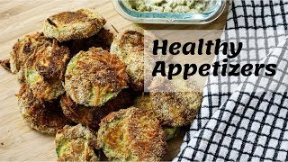 3 HEALTHY Appetizers | Easy And Quick Recipes