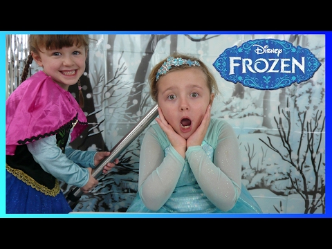 DISNEY FROZEN ELSA And ANNA Get A MAGIC HAIR DO! The Disney Toy Collector Mp3