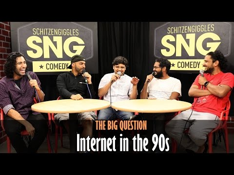 SnG: Internet in the 90s Ft Rahul Subramanian | The Big Question Episode 35 | Video Podcast