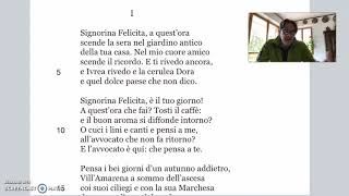 La signorina Felicita, lettura II