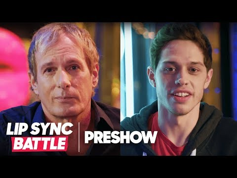 (EXPLICIT) Michael Bolton vs. Pete Davidson | Lip Sync Battle Preshow