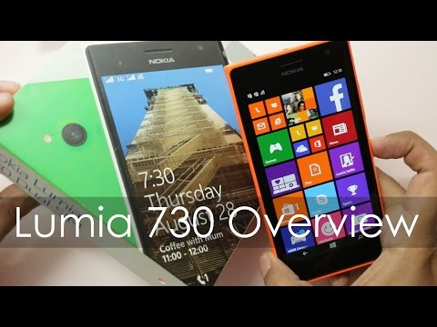Nokia Lumia 730 Unboxing & Hands on Overview Impressions